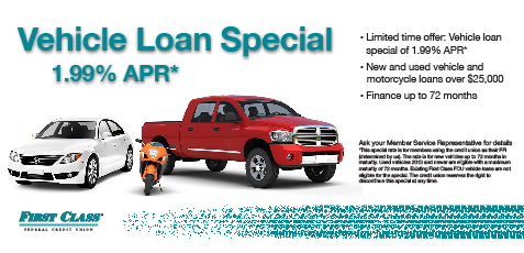 Vehicle loan special